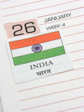 Republic Day Stock Photo