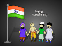 Republic Day background Royalty Free Stock Photo