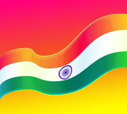 Republic Day in India. 26 January. design element, background with Indian national flag Stock Photo