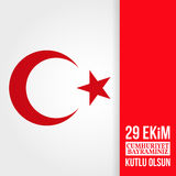 Republic Day Turkey. Stock Photo
