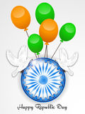 Republic Day. Vector illustration of a beautiful background for Republic day vector illustration