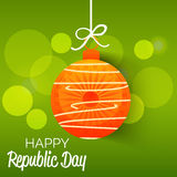 Republic Day. Vector illustration of a beautiful background for Republic day Royalty Free Stock Images