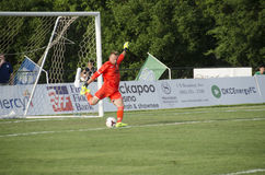 Republic FC goalkeeper Royalty Free Stock Images