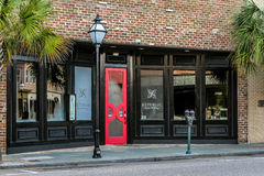 Republic Garden and Lounge, King Street, Charleston, SC. Royalty Free Stock Photos