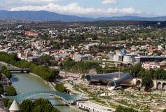 Republic Georgia, city of Tbilisi, city center Royalty Free Stock Photography