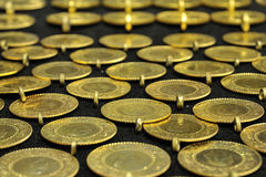 Republic gold Royalty Free Stock Image