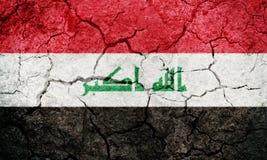 Republic of Iraq flag Stock Images