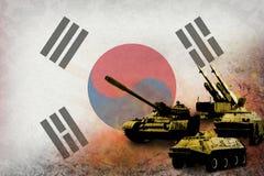 Republic of Korea South Korea army, military forces Stock Photo