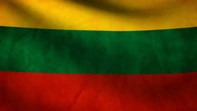 Republic Lithuania flag Stock Photos