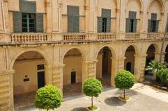 Republic of Malta, the picturesque city of Valetta. Republic of Malta, the great Master palace of Valetta Stock Photos