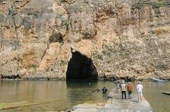 Republic of Malta, the picturesque Dwejra bay Stock Photos
