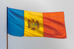 Republic of Moldova flag Royalty Free Stock Photos