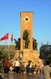 Republic Monument at Taksim Square Royalty Free Stock Image