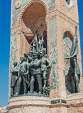 Republic Monument at Taksim Square Royalty Free Stock Photography