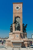 Republic Monument at Taksim Square Royalty Free Stock Images