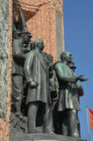 Republic Monument, Taksim Square in Istanbul, Turkey Royalty Free Stock Image