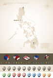 Republic of the Philippines Royalty Free Stock Photos