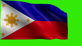 Republic of the Philippines, Flag of Philippines - LOOP Stock Photography