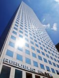 Republic Plaza builing royalty free stock images