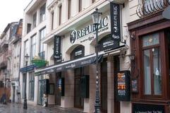 Republic pub Stock Photo