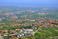 Republic Of San Marino lizenzfreie stockbilder