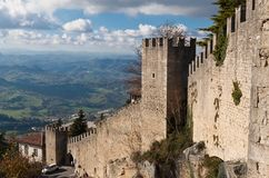 Republic Of San Marino Lizenzfreie Stockbilder