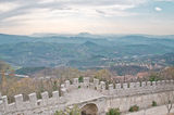 Republic San Marino. Architecture Royalty Free Stock Photo