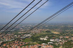 The Republic of San Marino. General view Stock Photos