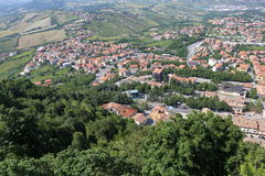 The Republic of San Marino. General view Royalty Free Stock Image
