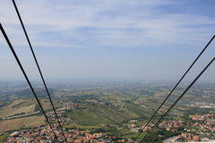 The Republic of San Marino. General view Royalty Free Stock Photography