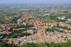 The Republic of San Marino. General view Royalty Free Stock Photos