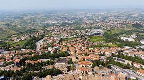 The Republic of San Marino. General view Stock Photo