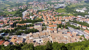 The Republic of San Marino. General view Stock Image