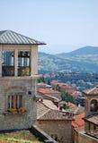 Republic Of San Marino, Italia foto de archivo libre de regalías