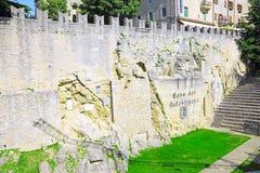 Republic of San Marino San Marino står hög. Arkivfoton