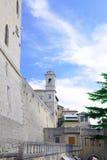 Republic Of San Marino San Marino torn. Arkivbilder