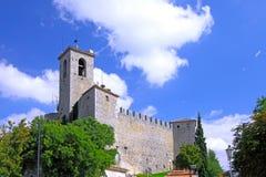Republic Of San Marino San Marino torn. Arkivbild