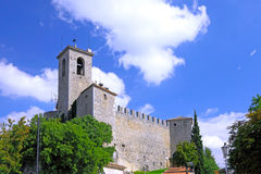 Republic of San Marino, San Marino Tower. Stock Photography