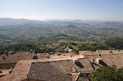 Republic of San Marino Royalty Free Stock Photography