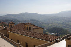 Republic of San Marino Royalty Free Stock Photo