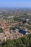 The Republic of San Marino Royalty Free Stock Photo