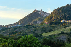 Republic of San Marino view Royalty Free Stock Photo