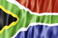 Republic of South African flag Royalty Free Stock Photos