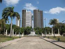 Republic Square. Statue - Brazil - Praca da Republica Royalty Free Stock Photography