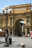 Republic square in Florence Italy Royalty Free Stock Image