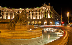 Republic Square in Rome, Italy Royalty Free Stock Photos