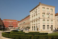 Republic Square. Split. Croatia Royalty Free Stock Photos