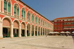 Republic Square. Split. Croatia Royalty Free Stock Photography
