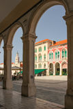 Republic Square. Split. Croatia Stock Image