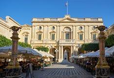 Republic Square in Valletta, Malta Royalty Free Stock Image